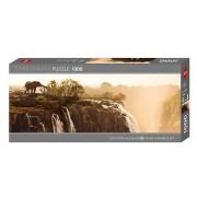 Heye Panorama Pussel - Humboldt, Elefant 1000 Bitar