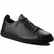 Сникърси CLARKS - Nathan Lace 261371107 Black Leather