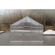 Szklarnia Sanus XL-18 wymiar 2,9x6,4m H=2,25m 18,6m2 poliwęglan 6mm