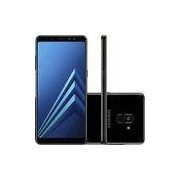 Smartphone Samsung Galaxy A8 Plus Dual Chip Android 7.1 Tela 6 Octa-Core 2.2GHz 64GB 4G Câmera 16MP - Preto