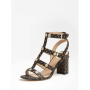 Guess Magale Sandalen - Donkerbruin - Size: 39