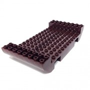 Parts/Elements - Boats Lego Parts: Boat Hull Large Middle 8 x 16 x 2 1/3 with 9 Holes