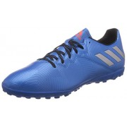 adidas Men's Messi 16.4 Tf Shoblu, Msilve and Cblack Football Boots - 8 UK/India (42 EU)