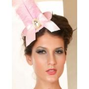 Cappellino rosa burlesque Paris