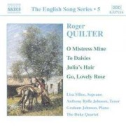 R. Quilter - English Songs 5 (0747313211623) (1 CD)