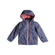 Roxy Mini Jetty Jk Snow Jacket Rumba Ditsy