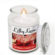 Lilly Lane Christmas Candy Cane Scented Candle