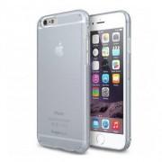 Husa Protectie Spate Ringke Slim Frost Alba plus folie protectie display pentru iPhone 6s Plus