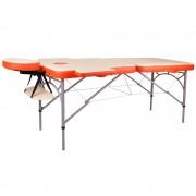 inSPORTline Alumínium Masszázs Asztal InSPORTline Tamati- Két Részes 9410/narancssarga