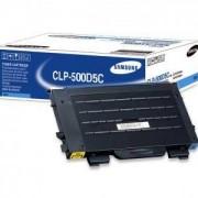 Тонер касета за Samsung CLP-500, CLP500N, CLP-550, CLP550N, син (CLP-500D5C)