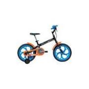 Bicicleta Caloi Hot Wheels Aro 16 - Preta