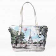 Y Not? Borsa Donna Y NOT Shopping a Spalla J-388 Champs Elysees