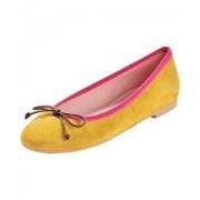 Pretty Ballerinas Velours-Ballerinas Angelis - Size: 37 38 39 41