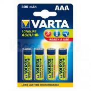 Baterije Varta punjive R03 AAA 800 mAh B4