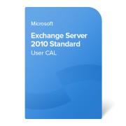 Microsoft Exchange Server 2010 Standard User CAL elektronikus tanúsítvány