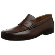 Clarks Men's Claude Lane Brown Leather Clogs and Mules - 7 UK/India (41 EU)