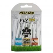 Champ Zarma FLYTee Golf Tees 3 1/4 (83 mm) Mixed Neon-25 Pack