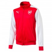 Puma FC Arsenal London T7 Kinder Jacke - 751982-01 rot/weiß