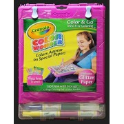 Binney & Smith Crayola Color Wonder Color N Go Mess Free Coloring Lap Desk With Storage