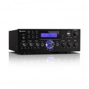 Auna AMP-5 BT, HiFi усилвател, 2 x 50 W RMS, BT, 2 x микрофон, черен (JO2_AUDIO 1)