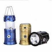 Wellbeing within LED Solar Emergency Light Bulb (Lantern) - Travel Camping Lantern - Assorted Colours