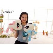 Kawaii Panda Plush Doll Toys 35cm Big Panda Luminous Plush Toys with Led Light Glow in Dark Children Kids Night Light Toys Gift