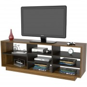 "Rack TV TuHome 60"" Classic Color -Caramelo,Wengue"