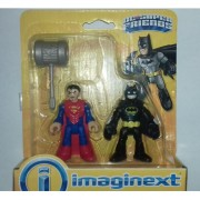 Imaginext DC Super Friends Batman vs Superman 2 pack