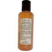 Khadi Honey and Vanilla Shampoo 210 ML (Pack of 1)