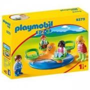 Комплект Плеймобил 9379 - Playmobil - Карусел за деца, 2900439
