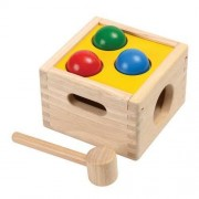 Plan Toys Zabawka edukacyjna Plan Toys Skrzynia z kulkami