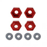 Cecileie Wheel Adapters 1/10 Retrofit 1/8 Wheel Rim Hex 12MM To 17MM Conversion Combiner For HSP RC Car Buggy Monster Bigfoot Truck