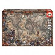 Puzzles 2000 Mapa Piratas - Educa Borras