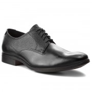 Обувки CLARKS - Gilmore Walk 261348607 Black Leather