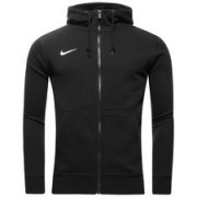 Nike Hoodie Team Club FZ Zwart