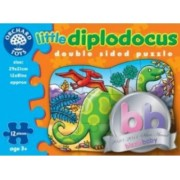 Puzzle Orchard Toys Little Diplodocus Double Sided Puzzle