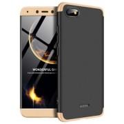 Protectie Spate GKK 360 6972170531766 pentru Xiaomi Redmi 6A (Negru/Auriu)