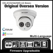 HIKVISION DS-2CD2342WD-I(2.8mm) Original English Version IP camera 4MP IPC Outdoor Dome Camera CCTV Camera H.264 P2P Onvif HD