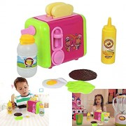 Dazzling Toys Delicious Pop-up Toaster Play Set (D245)
