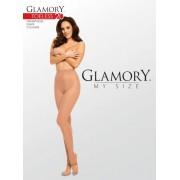 Glansig plus size strumpbyxa med öppen tå Toeless 20 från Glamory make-up 3XL