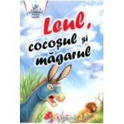 Leul Cocosul si Magarul - Povesti cu talc
