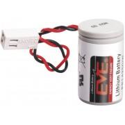 Baterie litiu 1/2 AA cu conector, 3,6 V, 1200 mAh, EVE