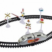 Toys Factory High Speed RC Train Toy With Flyovers And Track For Kids (Multicolour)