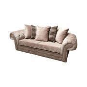 Luxury Texas 3+2 Fabric Sofa - Choice of Colours - Mink
