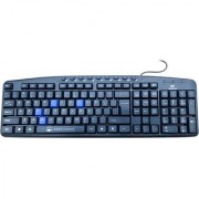 Beekonnect KB7381 Wired USB Laptop Keyboard(Black)
