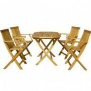Set masa si patru scaune HECHT BASIC