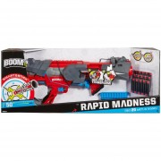 BOOMco Rapid Madness Lanzador De Dardos Y8618