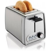 Hamilton Beach 68EAUNCQILC6 500 W Pop Up Toaster(Silver)