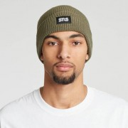 Sns shaker knit beanie Olive