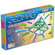 Set de constructie magnetic Geomag, Color, 91 piese